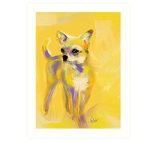 Chihuahua Josh Art Print