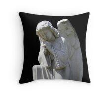 Praying For Peace Throw Pillow