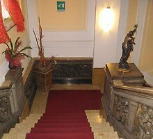 Stairs at Hotel Dock Milano, Turin, Italy by chord0