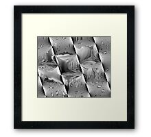 Metal Waves Framed Print