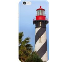 Lighthouse in St. Augustine, Florida iPhone Case/Skin