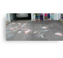 chalk fun Canvas Print