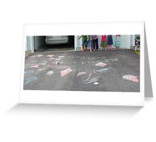 chalk fun Greeting Card