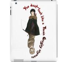 Not Theon Greyjoy anymore iPad Case/Skin