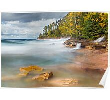 Pictured Rocks Surf Poster