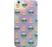 Alien Emoji - Fuzzy iPhone Case/Skin