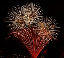 The Final Fireworks Show for 2008 by Moxy