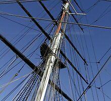 Cutty Sark Sail by abby hughes