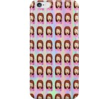 Sassy Woman Emoji  iPhone Case/Skin