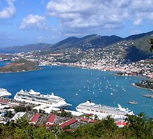Overview of St. Thomas by Heidi Hermes