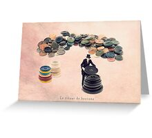The button sorter Greeting Card