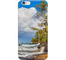 Elliot Falls at Miners Beach iPhone Case/Skin