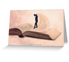 The page turner Greeting Card