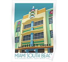 Berkeley Shore Hotel, Miami Poster