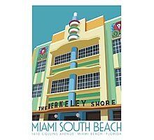 Berkeley Shore Hotel, Miami Photographic Print