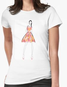 spring dress Womens Fitted T-Shirt