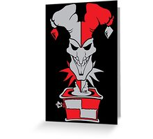 Shaco Riddle Box Greeting Card
