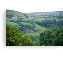 Esk Valley  Canvas Print