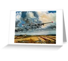 201 Sqdn Shackleton  Greeting Card