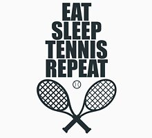 Eat Sleep Tennis Repeat Unisex T-Shirt