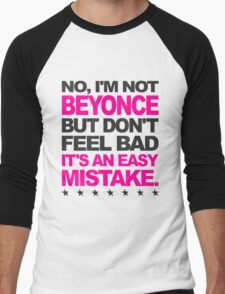 I'm Not Beyonce... Men's Baseball ¾ T-Shirt