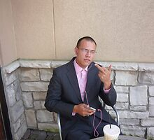 Pink Chinese Businessman? by mtda