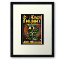 Amumu - Curse of the Sad Mummy! Framed Print