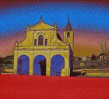 Church in Liguria by katekreations
