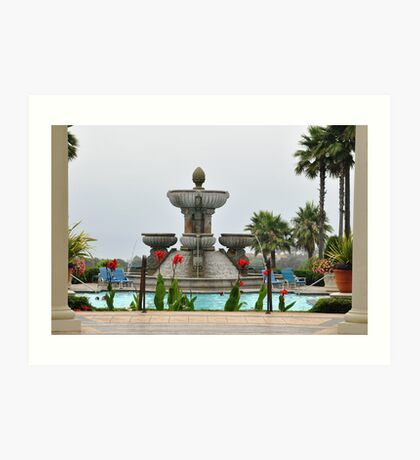 Fountain of Youth,,, Art Print