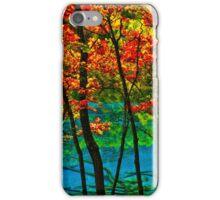Autumn in Mirror Lake, Jiuzhaigou, China iPhone Case/Skin