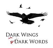 Dark Wings, Dark Words by DesignKi