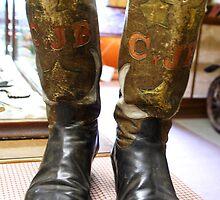 Sheriff Cy Bingham's cowboy boots by Marylamb
