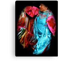 Ribbon dancer Canvas Print