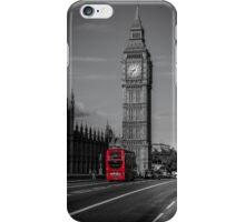 Big Ben and London Bus iPhone Case/Skin
