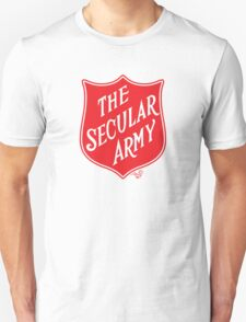 The Secular Army by Tai's Tees T-Shirt