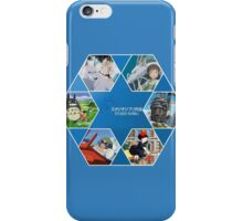 Hayao Miyazaki Films  iPhone Case/Skin