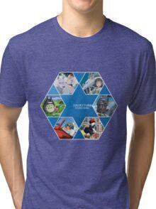 Hayao Miyazaki Films  Tri-blend T-Shirt