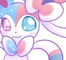 Heterochromia Sylveon  Sticker