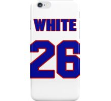 National baseball player Bill White jersey 26 iPhone Case/Skin