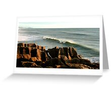 Layer upon layer upon layer Greeting Card