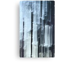 Trees ~ a winter abstract Canvas Print