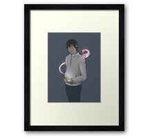 The Magic Trick Framed Print