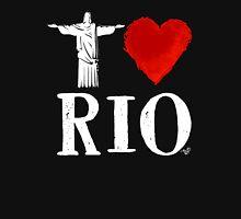 I Heart Rio de Janeiro (remix) by Tai's Tees Womens Fitted T-Shirt