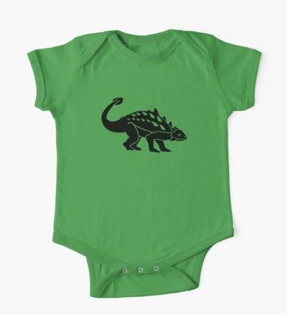 Ankylosaurus dinosaur One Piece - Short Sleeve