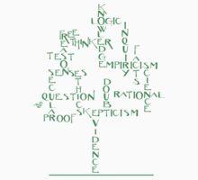 Free Thinker Tree by Tai's Tees Kids Tee