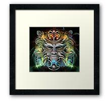 Mask 021 Framed Print