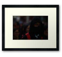Ninja Framed Print