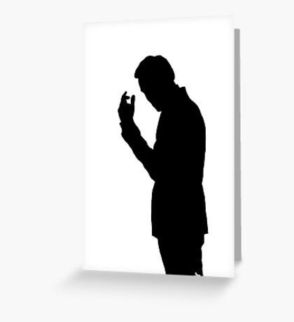 Jim Moriarty  Greeting Card