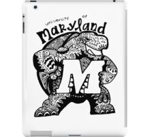 Hipster University of Maryland - College Park Design iPad Case/Skin