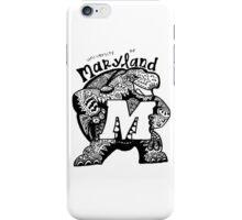 Hipster University of Maryland - College Park Design iPhone Case/Skin